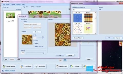 ภาพหน้าจอ CollageIt สำหรับ Windows 8