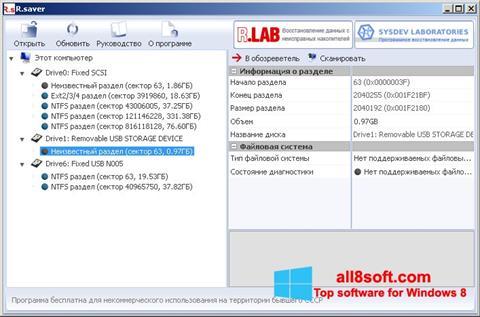 ภาพหน้าจอ R.saver สำหรับ Windows 8