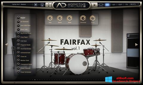 ภาพหน้าจอ Addictive Drums สำหรับ Windows 8