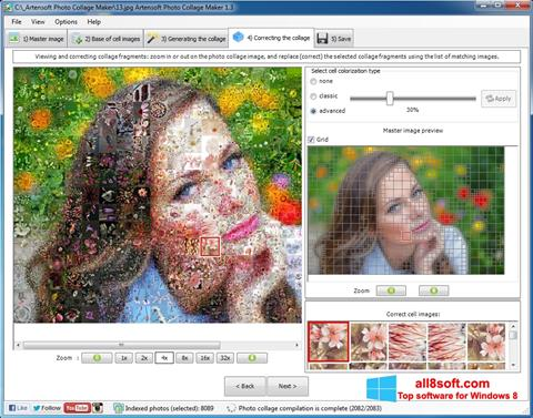 ภาพหน้าจอ Photo Collage Maker สำหรับ Windows 8