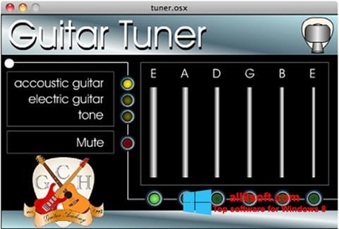 ภาพหน้าจอ Guitar Tuner สำหรับ Windows 8
