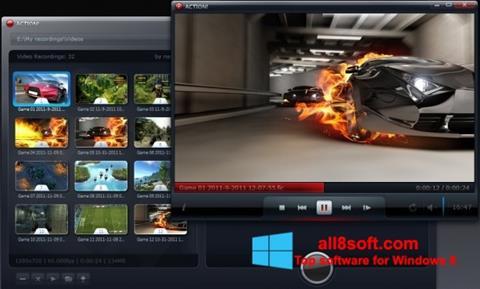 ภาพหน้าจอ Action! สำหรับ Windows 8