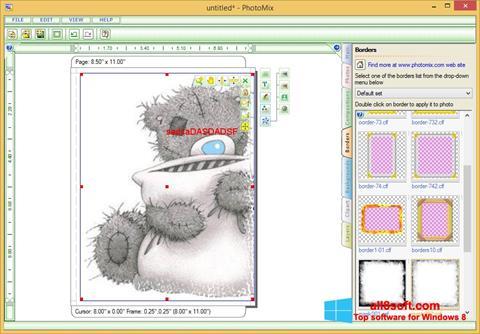 ภาพหน้าจอ PhotoMix Collage สำหรับ Windows 8