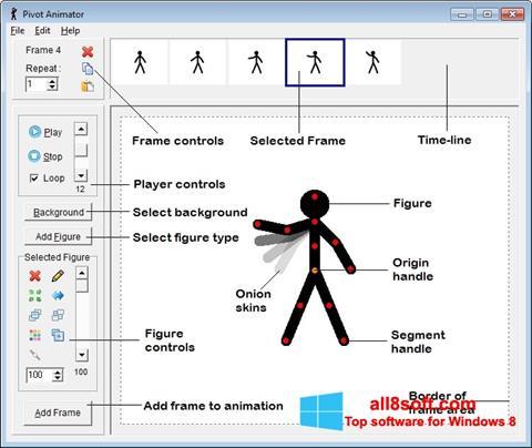 ภาพหน้าจอ Pivot Animator สำหรับ Windows 8