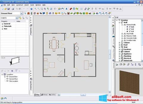 ภาพหน้าจอ FloorPlan 3D สำหรับ Windows 8