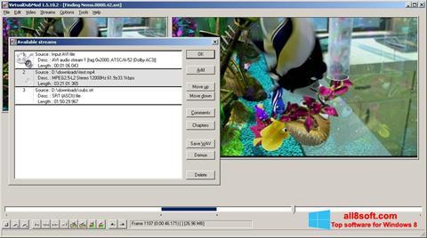 ภาพหน้าจอ VirtualDubMod สำหรับ Windows 8
