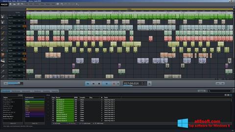 ภาพหน้าจอ MAGIX Music Maker สำหรับ Windows 8