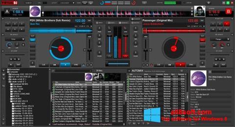ภาพหน้าจอ Virtual DJ สำหรับ Windows 8