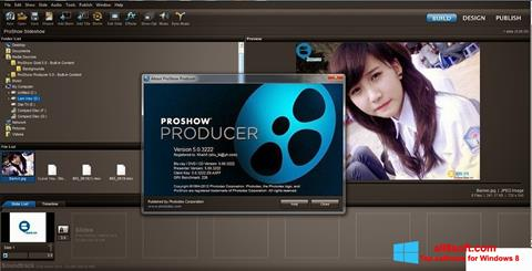 ภาพหน้าจอ ProShow Producer สำหรับ Windows 8