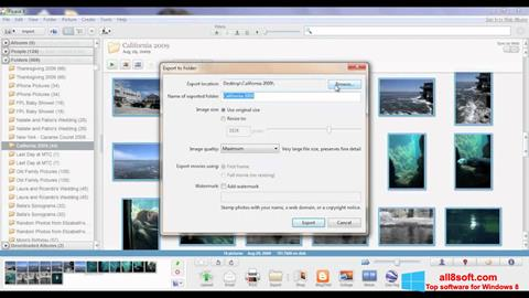 ภาพหน้าจอ Picasa สำหรับ Windows 8