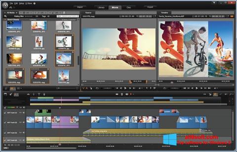 ภาพหน้าจอ Pinnacle Studio สำหรับ Windows 8