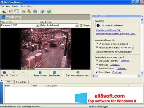 ภาพหน้าจอ WebCam Monitor สำหรับ Windows 8