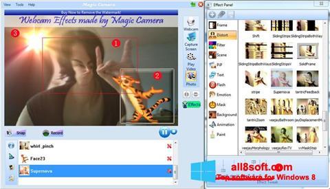 ภาพหน้าจอ Magic Camera สำหรับ Windows 8