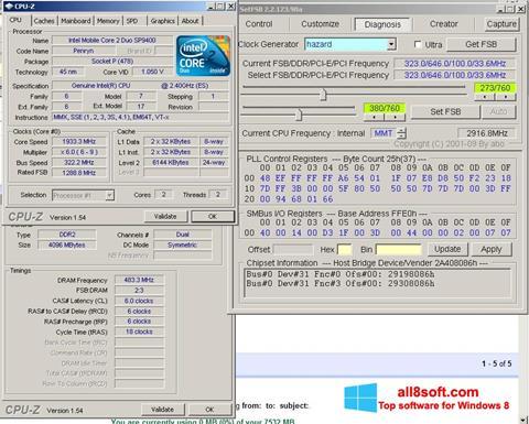 ภาพหน้าจอ SetFSB สำหรับ Windows 8
