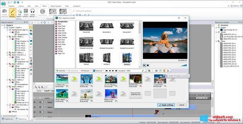ภาพหน้าจอ VSDC Free Video Editor สำหรับ Windows 8
