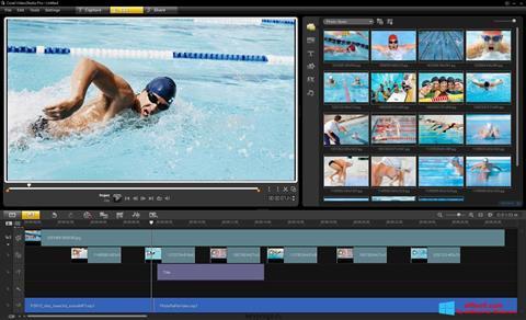 ภาพหน้าจอ Corel VideoStudio สำหรับ Windows 8
