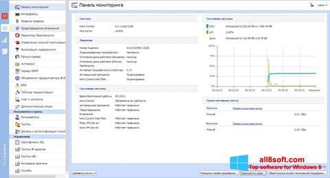 ภาพหน้าจอ Kerio Control สำหรับ Windows 8
