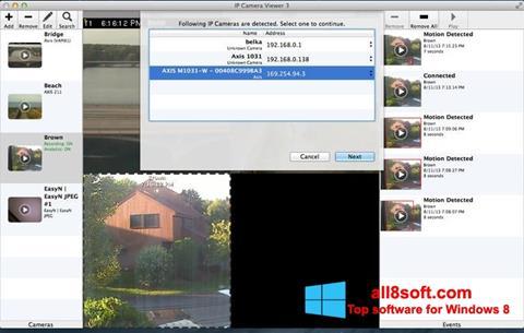 ภาพหน้าจอ IP Camera Viewer สำหรับ Windows 8