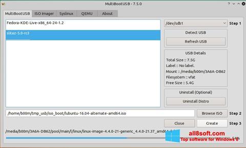 ภาพหน้าจอ MultiBoot USB สำหรับ Windows 8